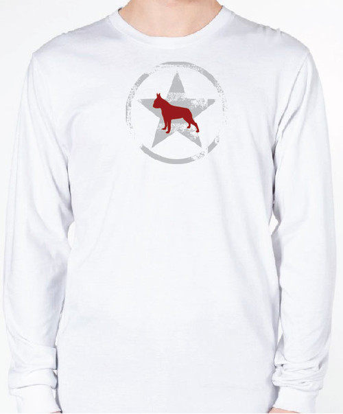 Unisex AllStar Boston Terrier Long Sleeve T-Shirt