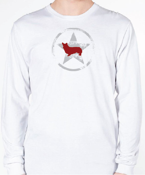 Unisex AllStar Corgi Long Sleeve T-Shirt