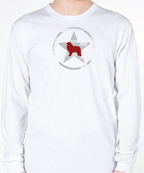 Unisex AllStar Great Pyrenees Long Sleeve T-Shirt