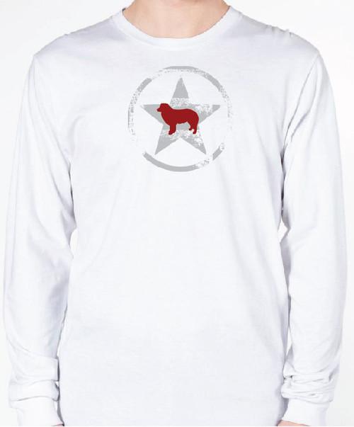 Unisex AllStar Border Collie Long Sleeve T-Shirt
