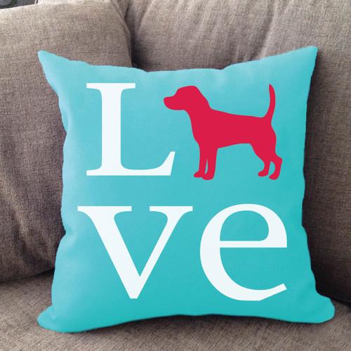 Beagle Love Pillow