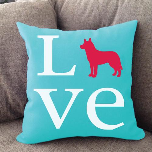 Husky Love Pillow