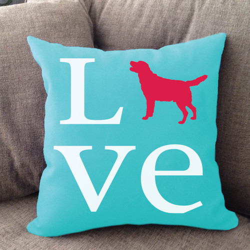 Labrador Retriever Love Pillow