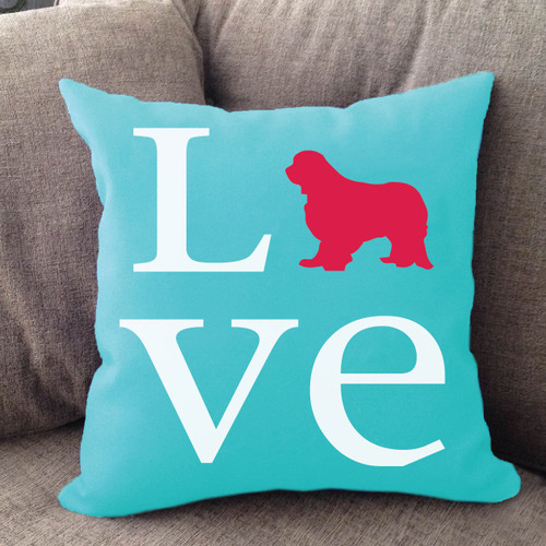 Cavalier King Charles Spaniel Love Pillow