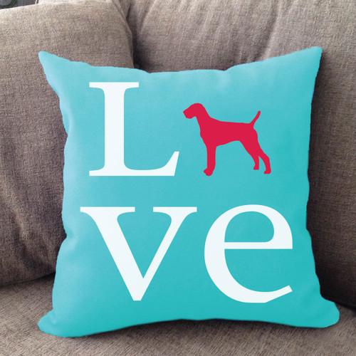 Vizsla Love Pillow