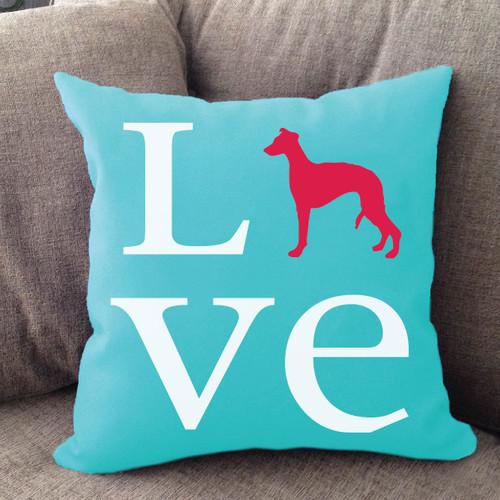 Whippet Love Pillow