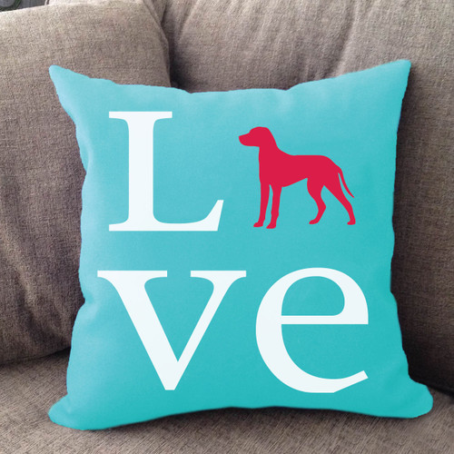 Dalmatian Love Pillow