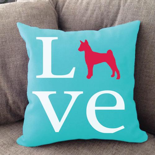 Basenji Love Pillow