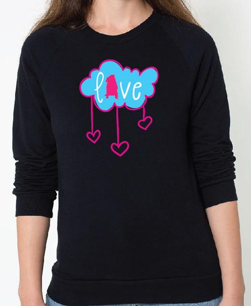 Pug Cloud Sweatshirt