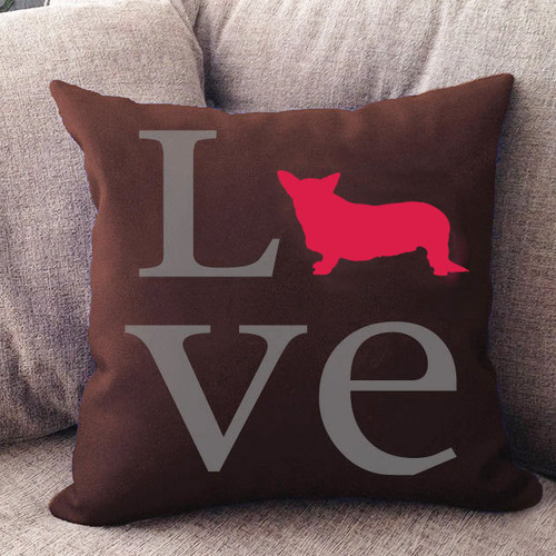 Cardigan Welsh Corgi Love Pillow