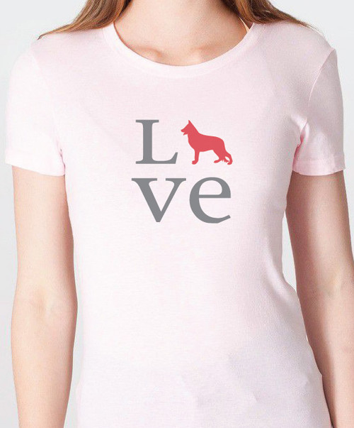 Unisex Love German Shepherd T-Shirt