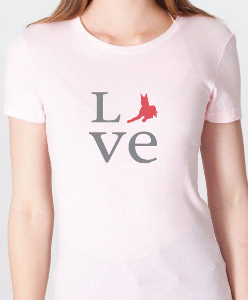 Unisex Love Great Dane T-Shirt