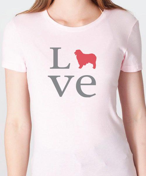 Unisex Love Australian Shepherd T-Shirt
