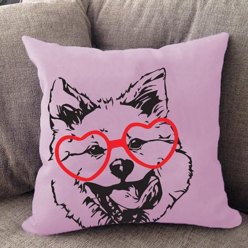 Akita Hipster Pillow