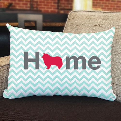 Righteous Hound - Home Collie Pillow