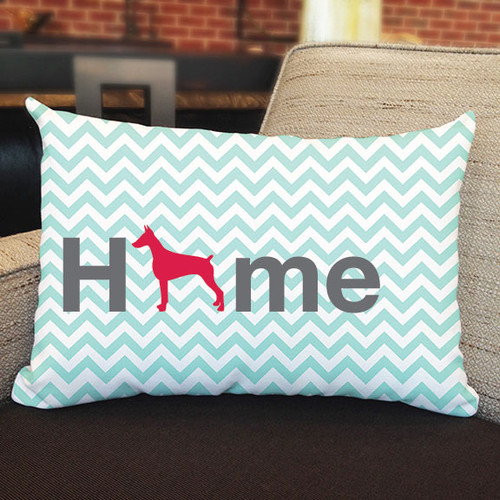 Righteous Hound - Home Doberman Pillow