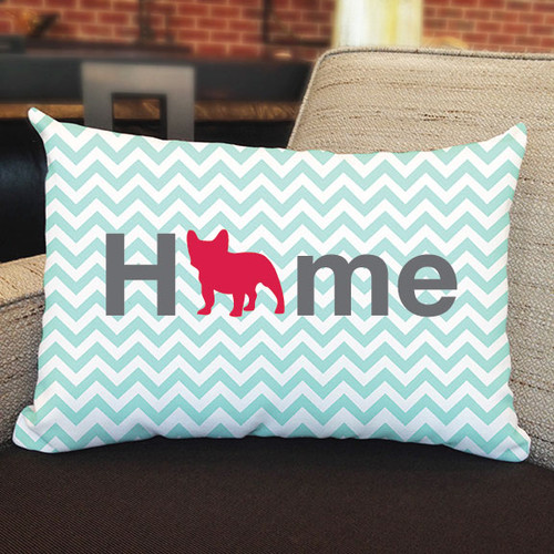 Righteous Hound - Home French Bulldog Pillow