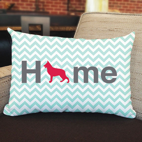 Righteous Hound - Home German Shepherd Pillow