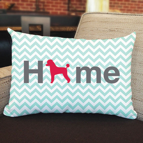 Righteous Hound - Home Poodle Pillow