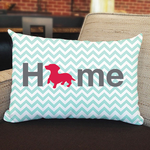 Righteous Hound - Home Dachshund Pillow