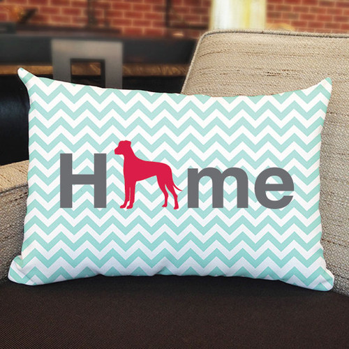 Righteous Hound - Home Great Dane Pillow