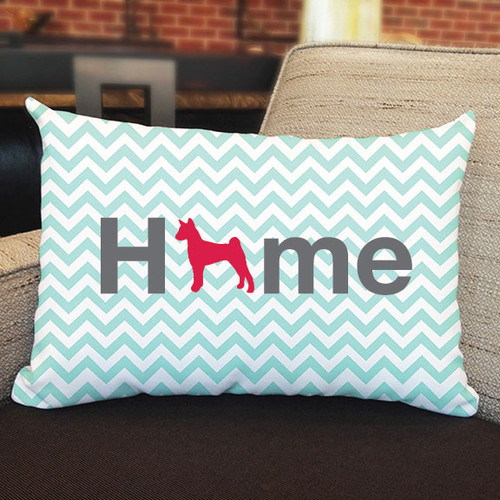 Righteous Hound - Home Basenji Pillow