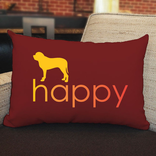 Righteous Hound - Happy Mastiff Pillow