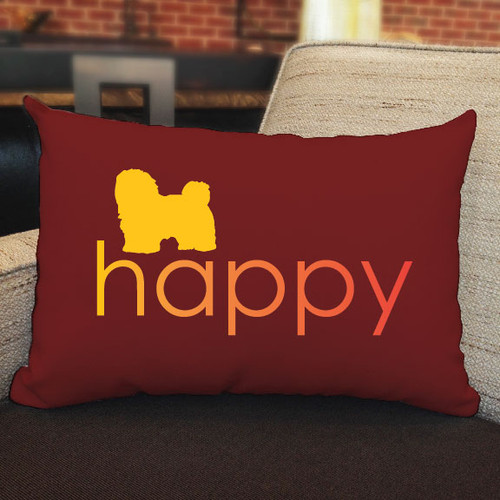 Righteous Hound - Happy Havanese Pillow