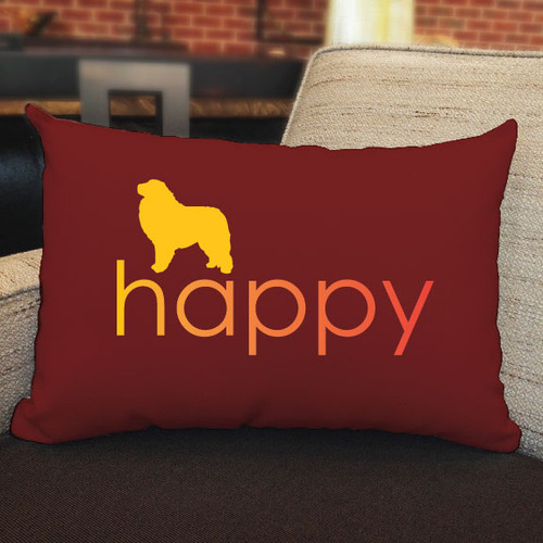 Righteous Hound - Happy Great Pyrenees Pillow