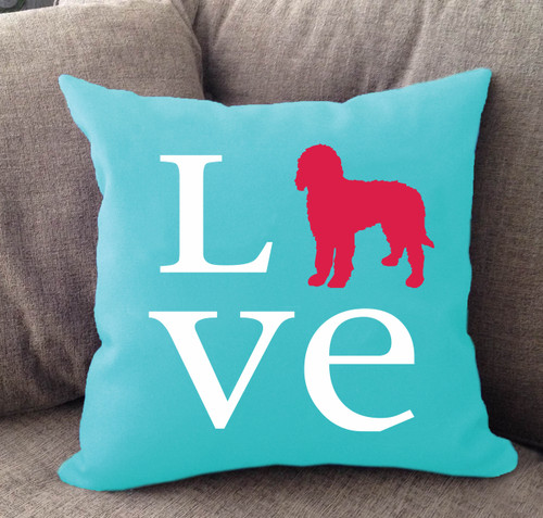Goldendoodle Love Pillow