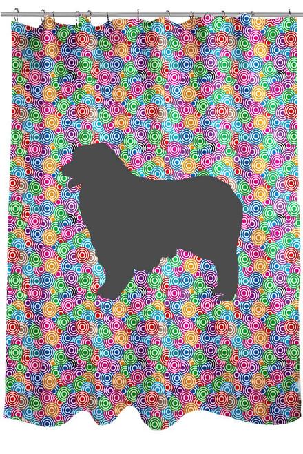 Righteous Hound - Circle Australian Shepherd Shower Curtain