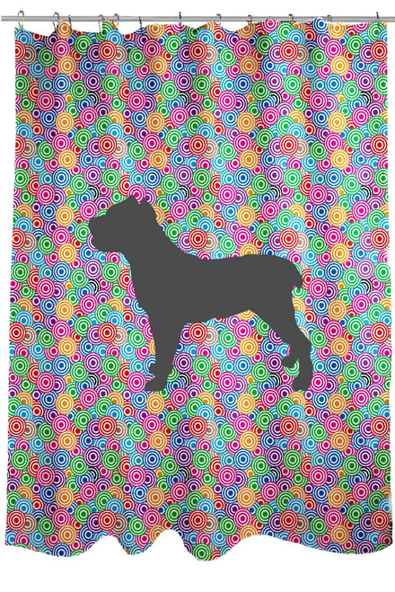 Righteous Hound - Circle Cane Corso Shower Curtain