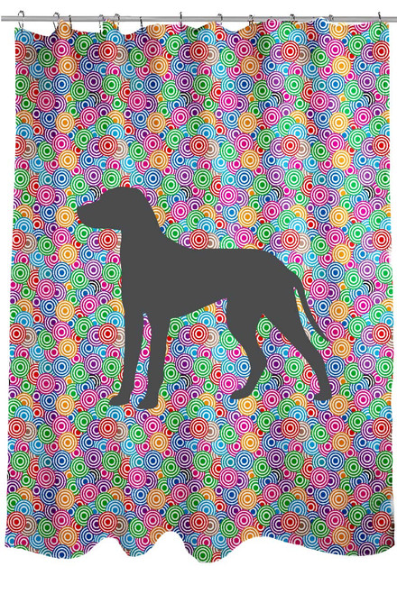 Righteous Hound - Circle Dalmatian Shower Curtain