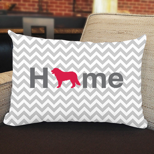 Bernese Mountain Dog Home Pillow