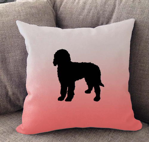 Goldendoodle Ombre Pillow