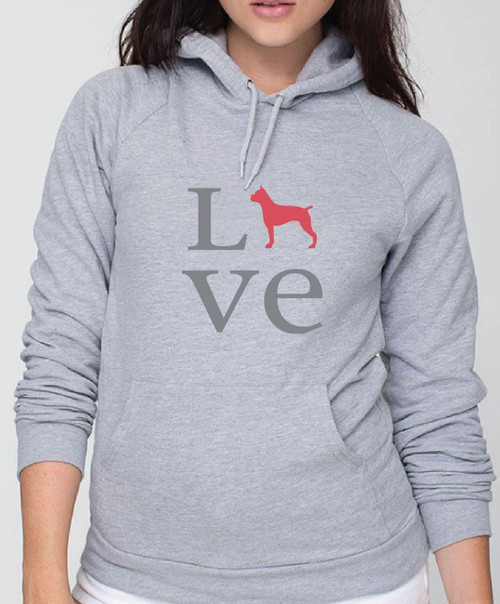 Righteous Hound - Unisex Love Boxer Hoodie