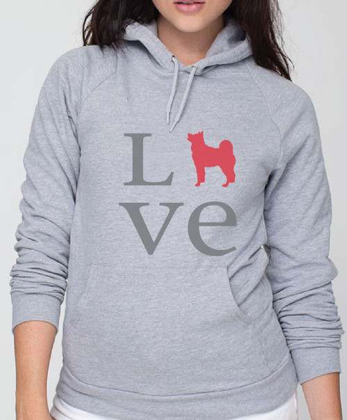 Righteous Hound - Unisex Love Akita Hoodie