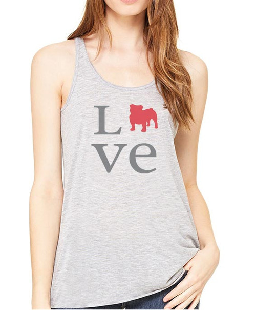 Righteous Hound - Flowy Love Bulldog Tank