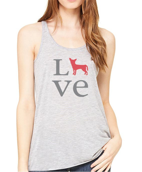 Righteous Hound - Flowy Love Chihuahua Tank