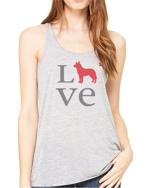 Righteous Hound - Flowy Love Husky Tank