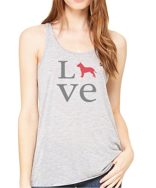 Righteous Hound - Flowy Love Pitbull Tank