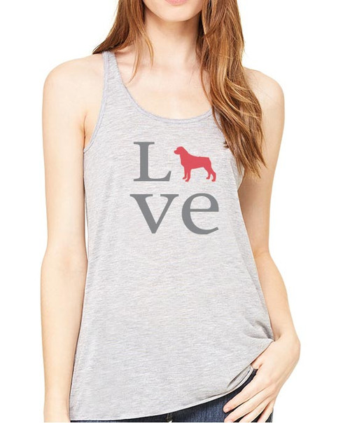 Righteous Hound - Flowy Love Rottweiler Tank