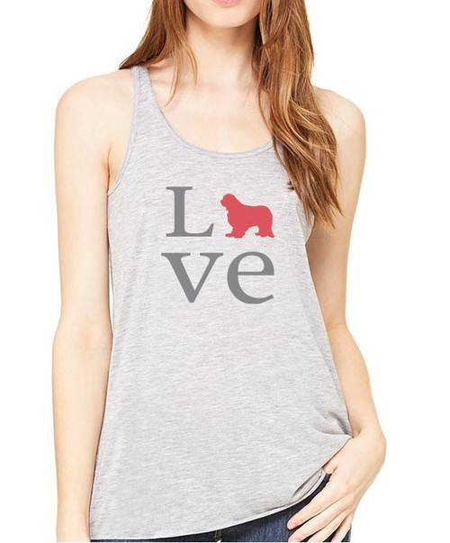 Righteous Hound - Flowy Love Cavalier King Charles Spaniel Tank