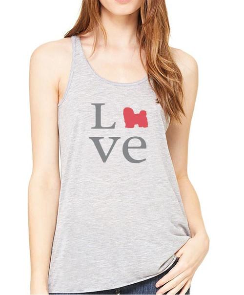 Righteous Hound - Flowy Love Havanese Tank