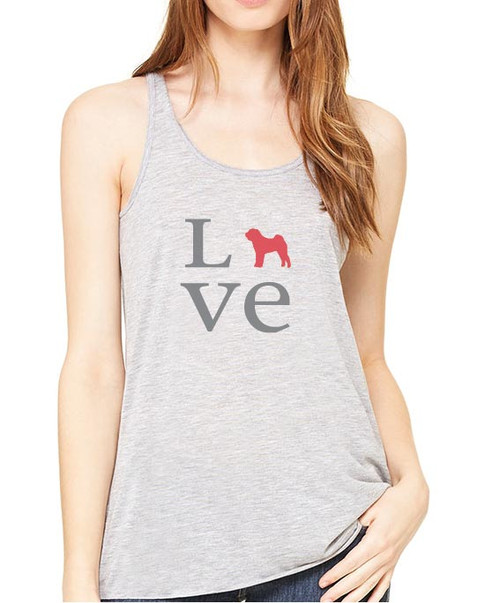 Righteous Hound - Flowy Love Shar-Pei Tank