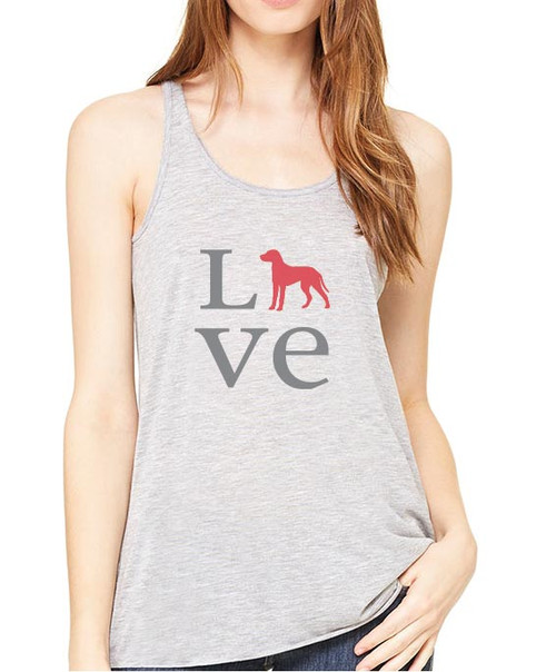 Righteous Hound - Flowy Love Dalmatian Tank