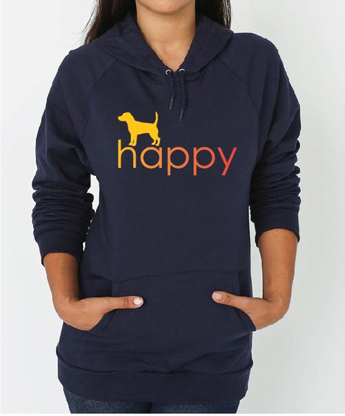 Righteous Hound - Unisex Happy Beagle Hoodie