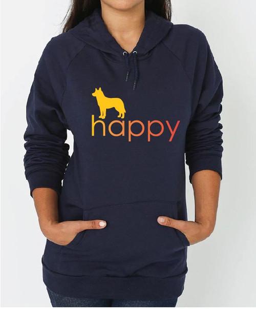 Righteous Hound - Unisex Happy Husky Hoodie