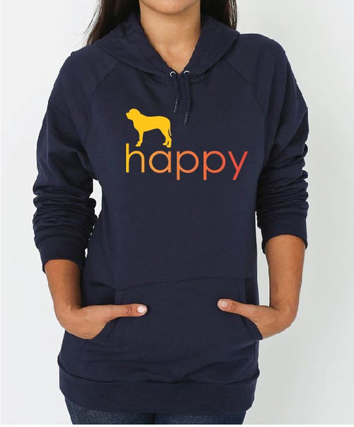 Righteous Hound - Unisex Happy Mastiff Hoodie