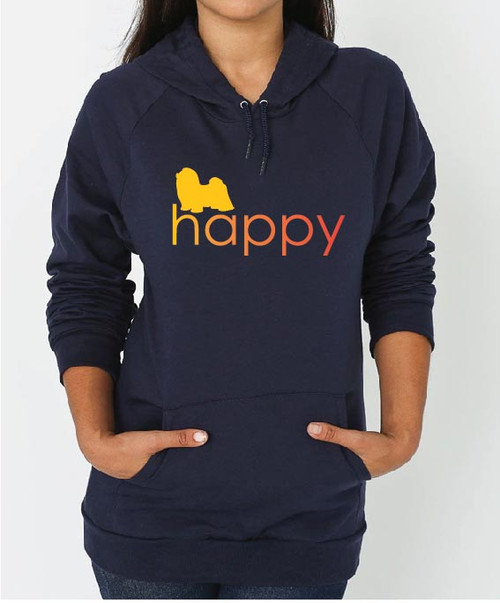 Righteous Hound - Unisex Happy Shih Tzu Hoodie